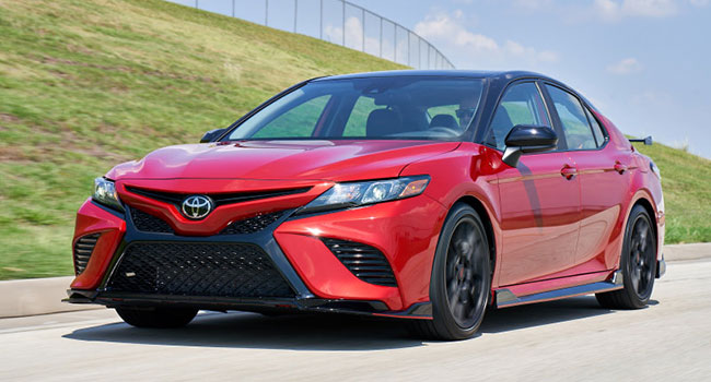 A tale of two Camrys: XSE and TRD