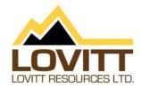 Lovitt Resources to Resume Exploration