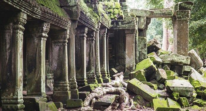 ancient history ruins canada, empire